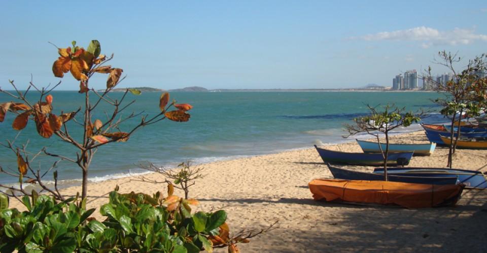 Praia de Itapoã, uma das principais de Vila Velha