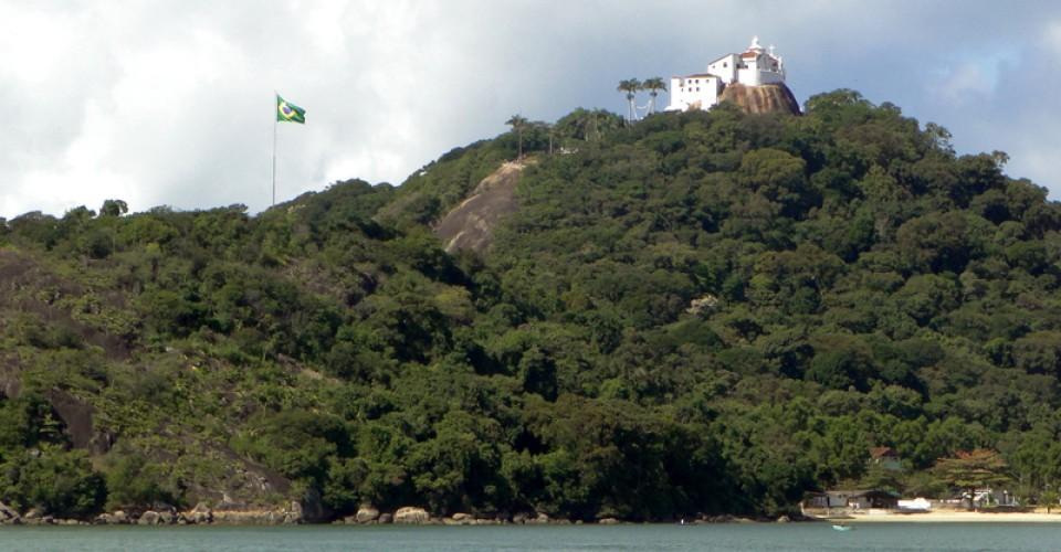 O Convento da Penha é um ícone de Vila Velha e do Estado