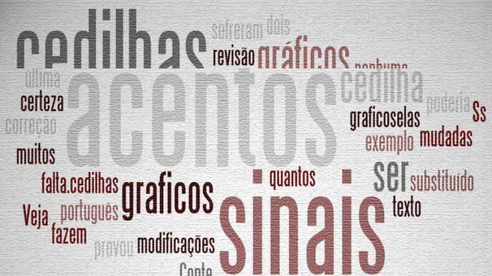 Acentos, cedilhas e sinais gráficos complicam o português