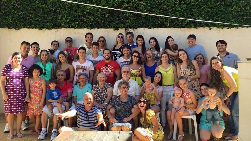 Família de um homem notável